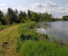 Amazing 40acres with huge pond right next to the Salamonie Reservoir
