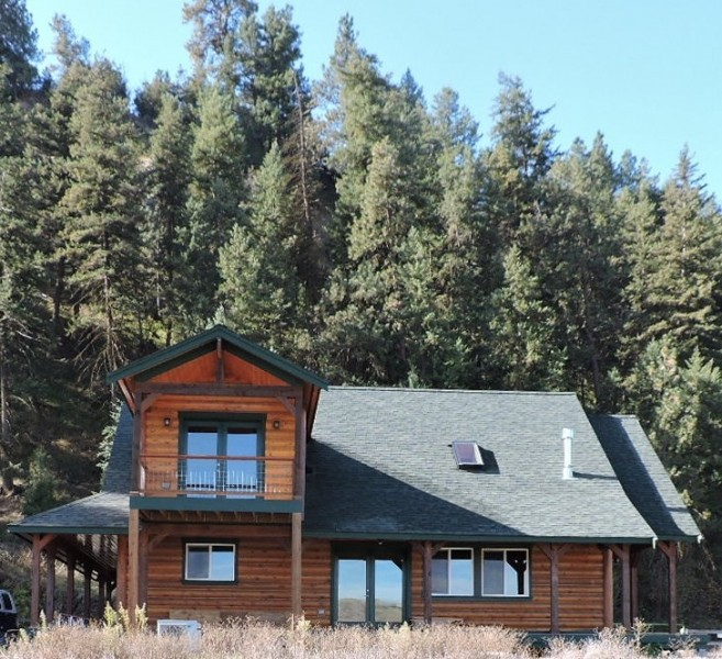 Wallowa Riverfront Home For Sale in Wallowa County  OR featured image