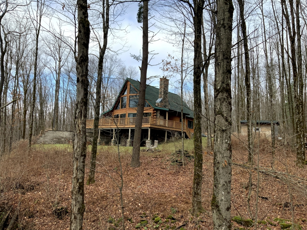 15 acre Log Home Near Salmon River Orwell NY featured image