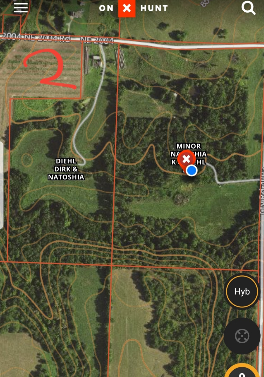 187 acres Deer and Turkey Lease featured image