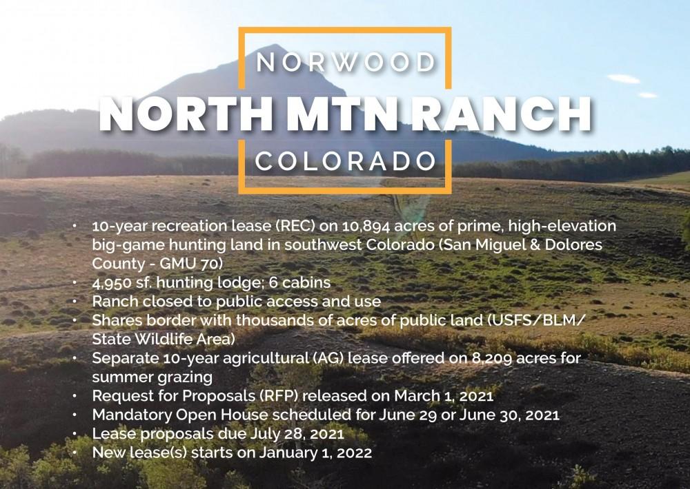 NORTH MOUNTAIN RANCH COLORADO featured image