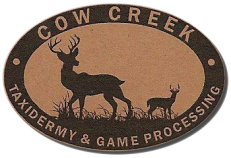 business logo Cow Creek Taxidermy and Game Processing